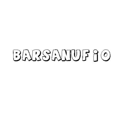 BARSANUFIO