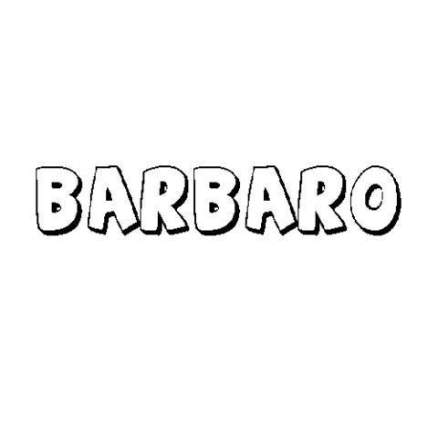 BÁRBARO