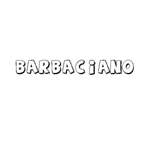 BARBACIANO