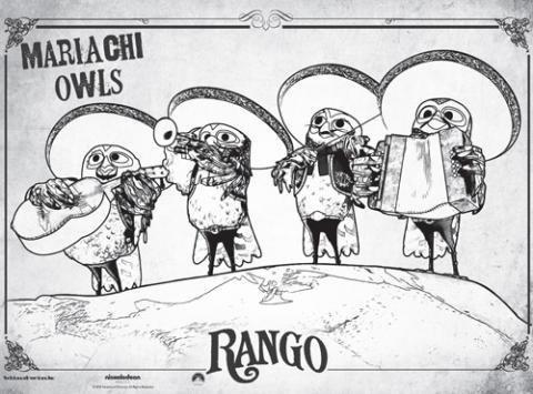 Rango: los buhos mariachis