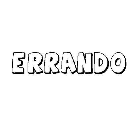 ERRANDO