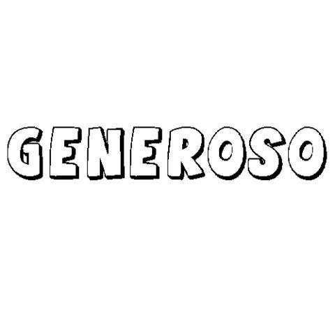 GENEROSO