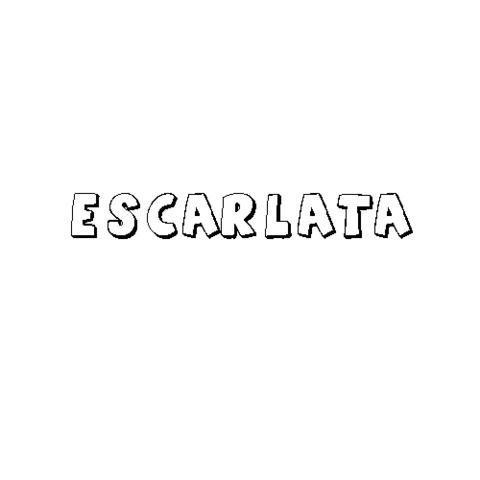ESCARLATA