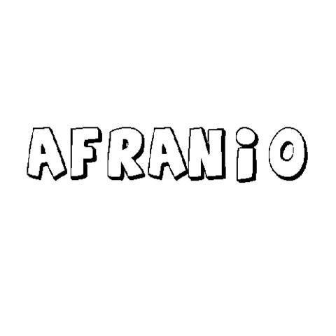 AFRANIO