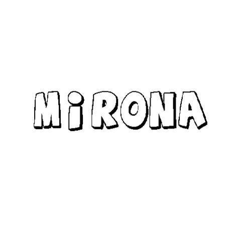 MIRONA