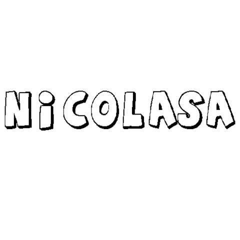 NICOLASA