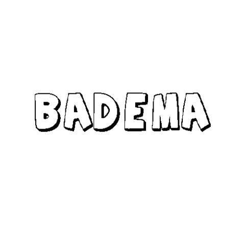 BADEMA