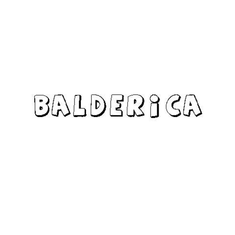 BALDERICA