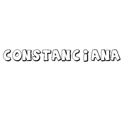 CONSTANCIANA