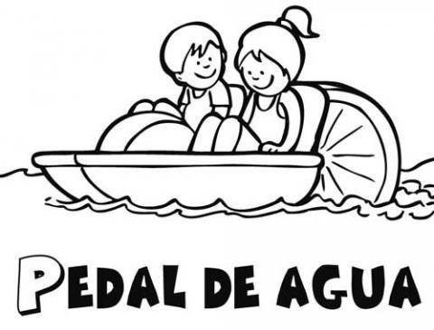 Pedal de agua