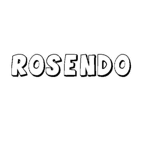 ROSENDO