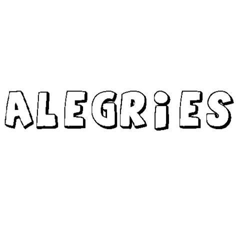 ALEGRIES