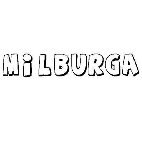 MILBURGA