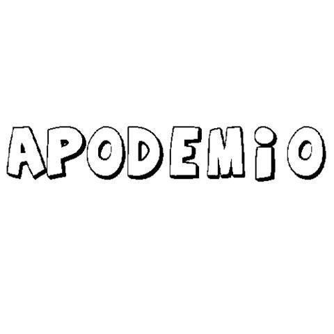 APODEMIO