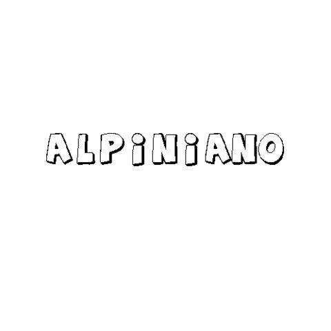 ALPINIANO