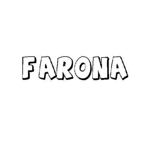 FARONA