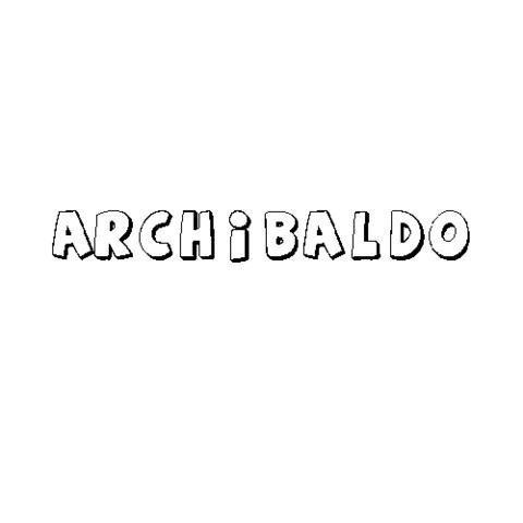 ARCHIBALDO