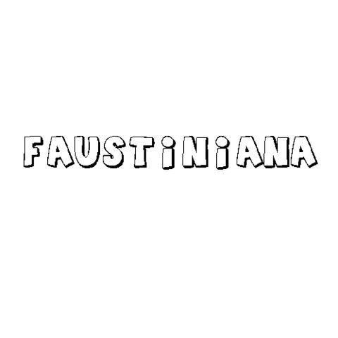 FAUSTINIANA