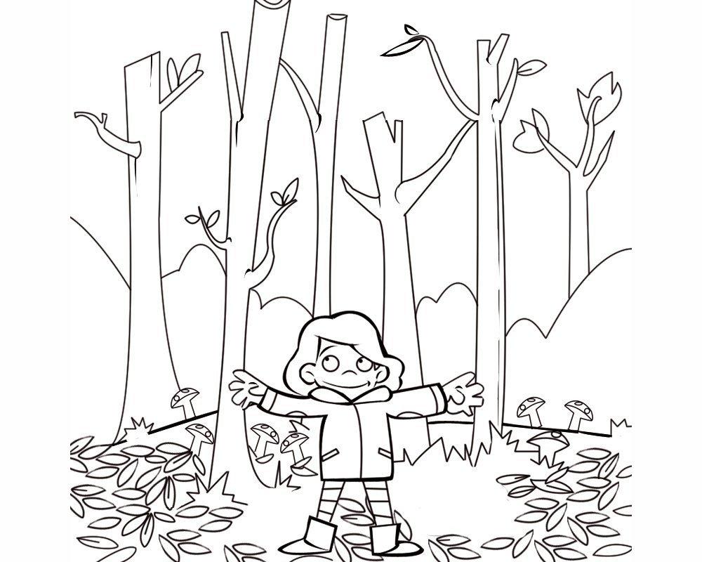 Rose Glen North Dakota Try These Dibujos De Paisajes De Otoño Para