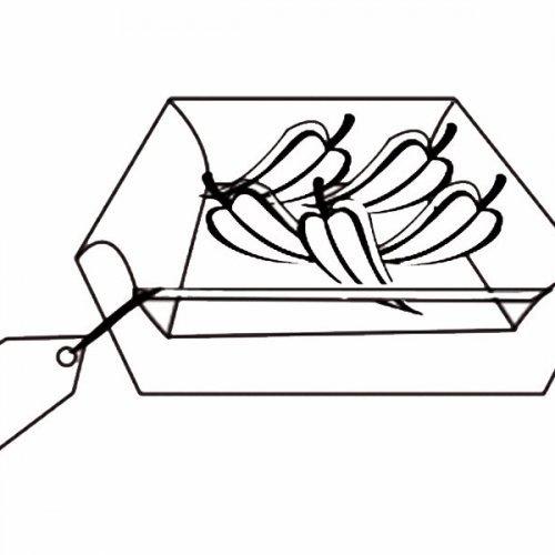 Caja de pimientos