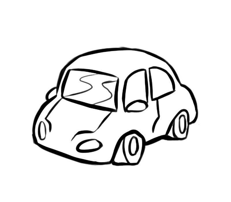 Muitas vezes Desenho para imprimir de um carro MW36