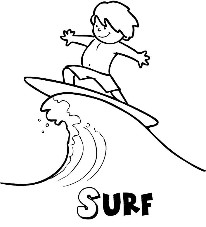 Surf en verano