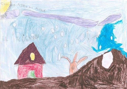 Dibujo de Carlos, de 5 años