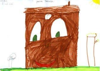 Dibujo de Claudia, de 5 años