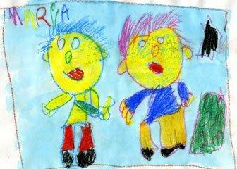 Dibujo de María, de 6 años