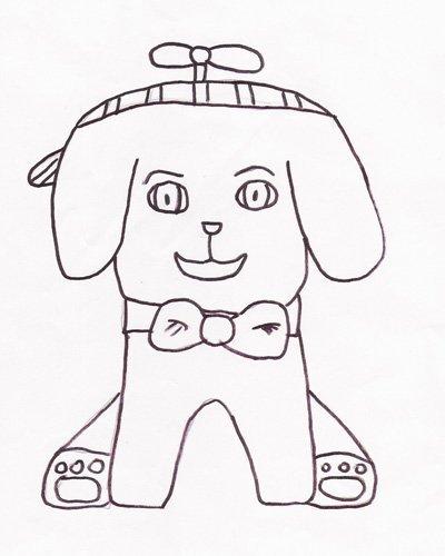 Dibujo de Elena Castillo, 9 años