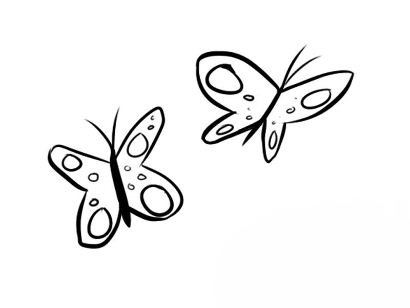 Mariposas volando