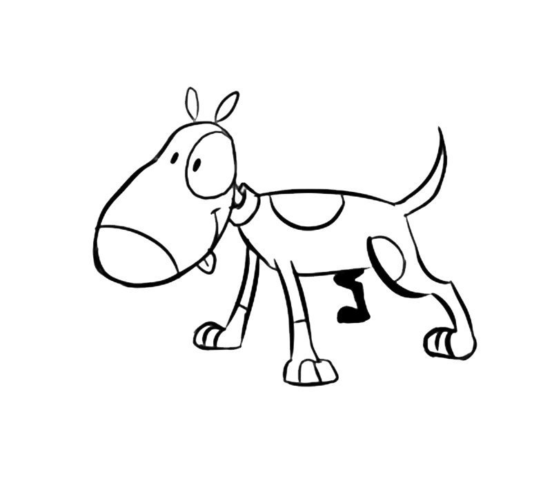 Perro con manchas