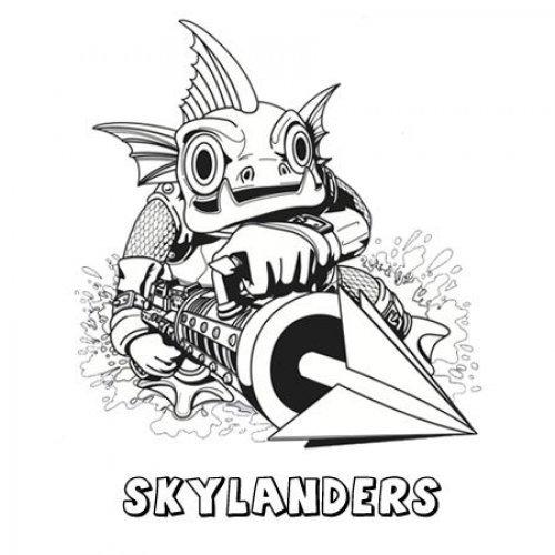 Skylanders Spyro´s Adventure. Dibujos para colorear con niños