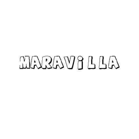 MARAVILLA