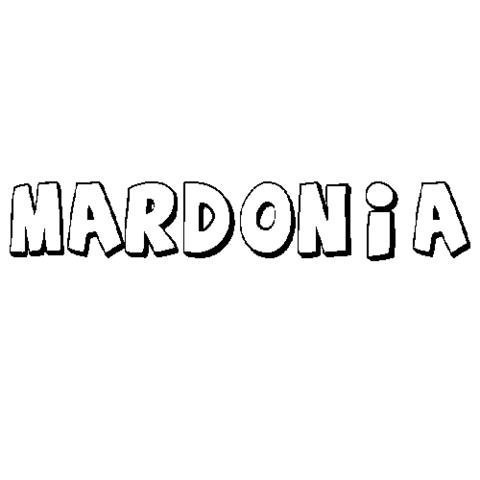 MARDONIA