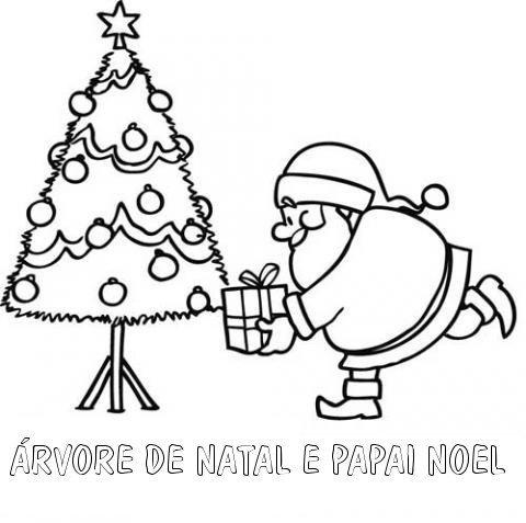 40 Desenhos De Papai Noel Para Colorir E Imprimir