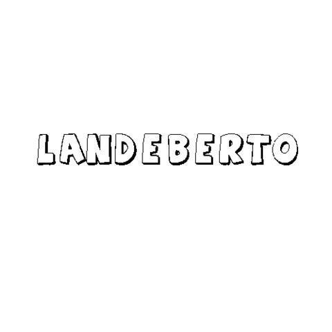 LANDEBERTO