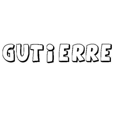 GUTIERRE