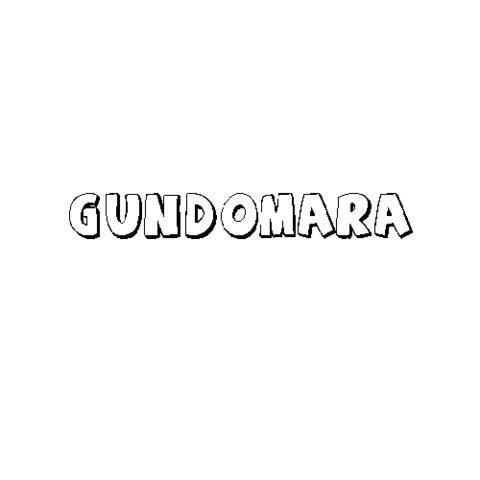 GUNDOMARA