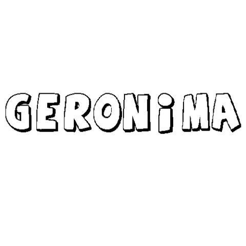 GERÓNIMA