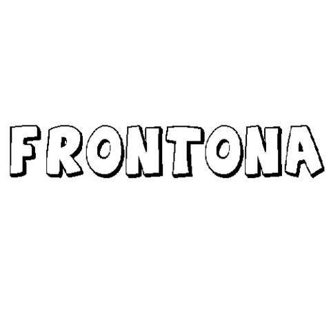 FRONTONA