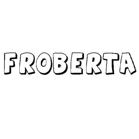 FROBERTA