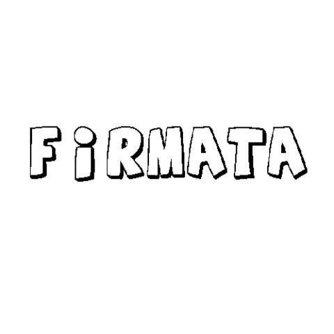 FIRMATA