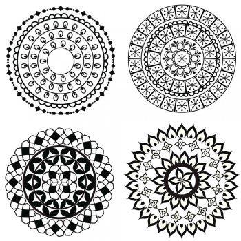 Desenhos de Mandalas para colorir com as crianças