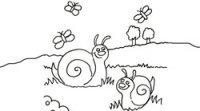 Desenhos de natureza para imprimir e colorir