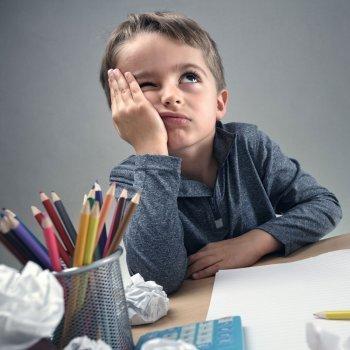 Quando a criança não gosta de uma matéria na escola