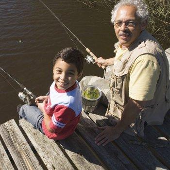 Quanto as crianças podem aprender com os avós!
