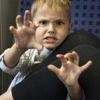 A criança inquieta e que se movimenta muito