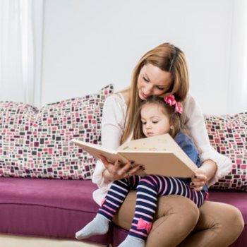 Mamãe, hoje o conto sou eu que vou ler!
