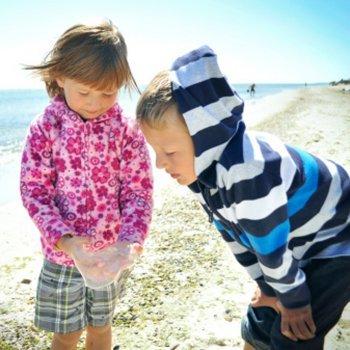 As águas vivas e as queimaduras em crianças